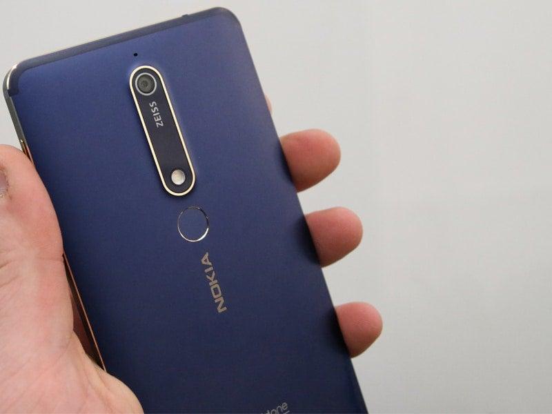 Nokia 6 2018) Bilder