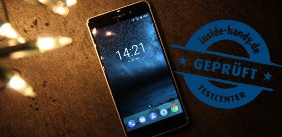 Nokia 6 im Test geprüft-Siegel