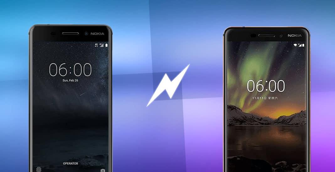 Nokia 6 (2017) vs. Nokia 6 (2018)