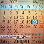 Nokia 6030 - Kalender