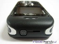 Nokia 6030 - oberseite