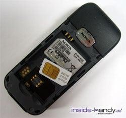 Nokia 6030 - SIM-Karte
