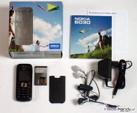 Nokia 6030 - Verpackung und Lieferumfang