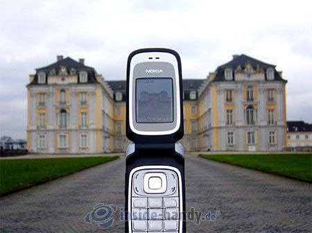 Nokia 6085: beim Fotografieren