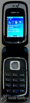 Nokia 6085: Beleuchtung