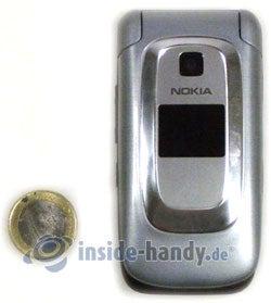 Nokia 6085: Größenverhältnis