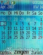 Nokia 6085: Kalender