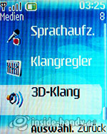 Nokia 6085: Medien