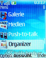 Nokia 6085: Menü