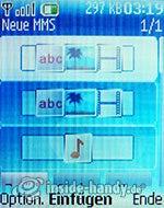 Nokia 6085: neue MMS