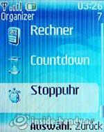 Nokia 6085: Organizer