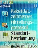 Nokia 6085: Protokoll