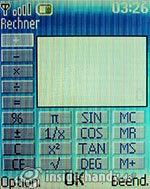 Nokia 6085: Rechner