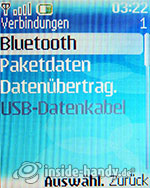 Nokia 6085: Verbindungen