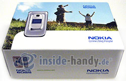 Nokia 6085: Verpackung
