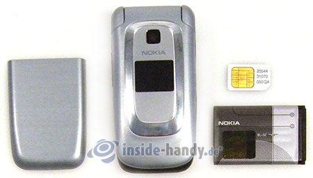 Nokia 6085: zerlegt in Bestandteile