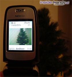 Nokia 6101 - Foto machen