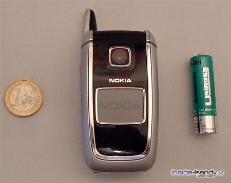 Nokia 6101 - größe