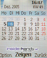 Nokia 6101 - Kalender