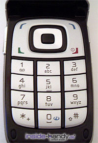 Nokia 6101 - Tastatur