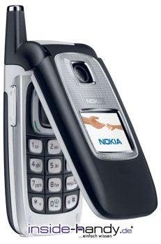 Nokia 6103 Datenblatt - Foto des Nokia 6103