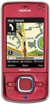 Nokia 6210 Navigator Datenblatt - Foto des Nokia 6210 Navigator