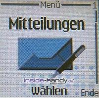 Nokia 6230 - Display Mitteilung