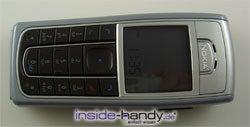 Nokia 6230 - display von oben