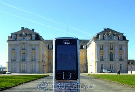 Nokia 6300: beim Fotografieren