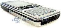 Nokia 6300: Draufsicht links unten