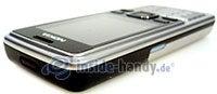 Nokia 6300: Draufsicht oben links