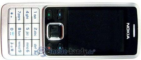 Nokia 6300: Draufsicht