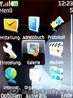 Nokia 6300: Hauptmenü