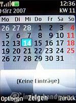 Nokia 6300: Kalender