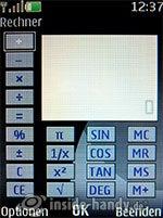 Nokia 6300: Rechner