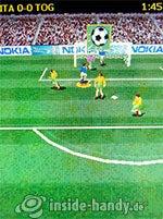 Nokia 6300: Soccer 3D