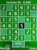 Nokia 6300: Sudoku