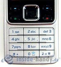 Nokia 6300: Tastatur