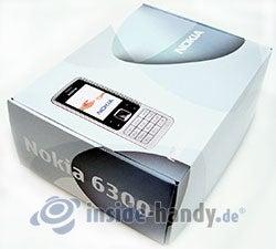 Nokia 6300: Verpackung