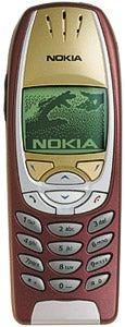 Nokia 6310 Datenblatt - Foto des Nokia 6310
