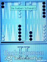 Nokia 6500 Classic: Backgammon