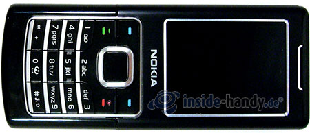 Nokia 6500 Classic: Draufsicht