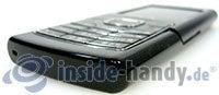 Nokia 6500 Classic: Ecke unten rechts