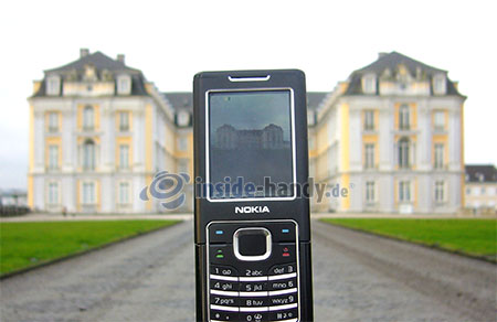 Nokia 6500 Classic: Foto Schloss