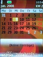 Nokia 6500 Classic: Kalender