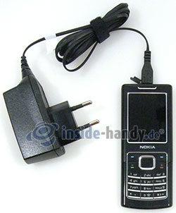 Nokia 6500 Classic: Ladekabel