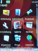 Nokia 6500 Classic: Menü