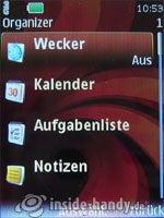 Nokia 6500 Classic: Organizer