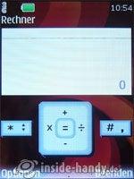 Nokia 6500 Classic: Rechner