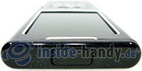 Nokia 6500 Classic: Seitenansicht oben